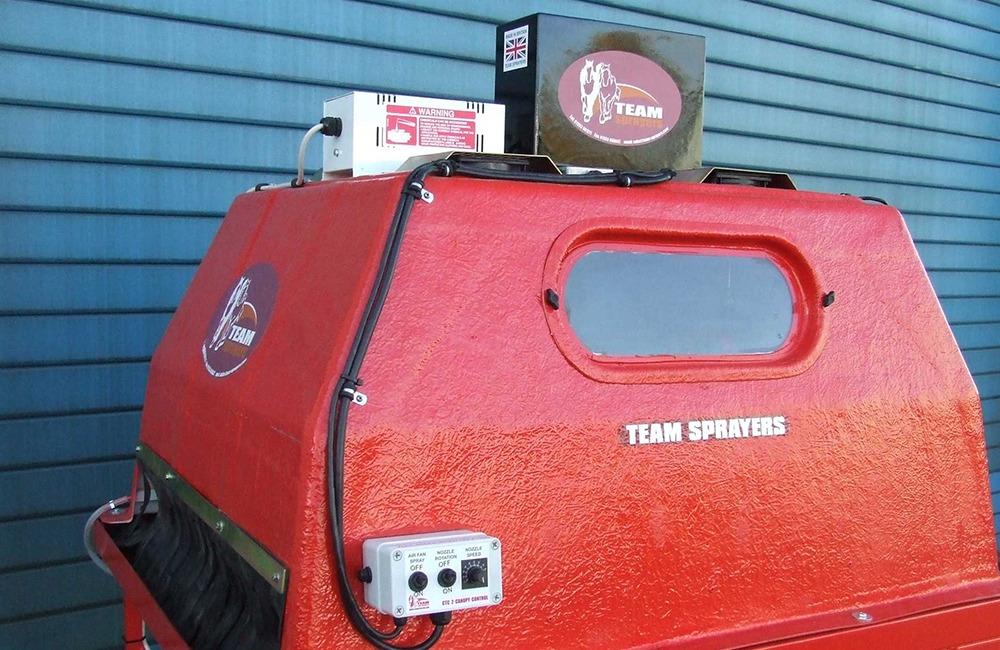 Team Sprayers air treatment