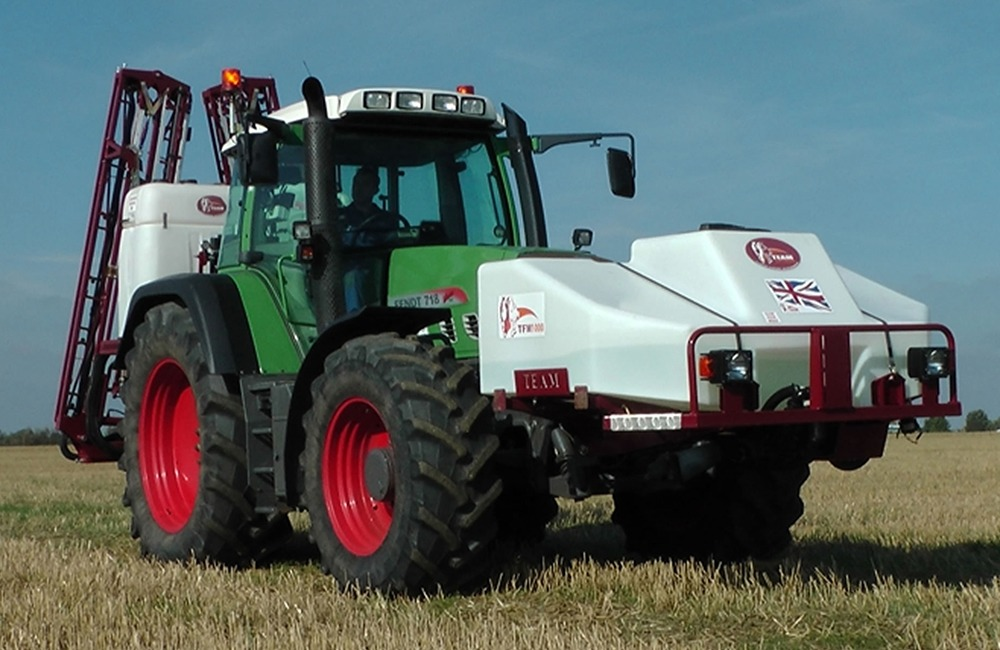 Team Sprayers front mounted